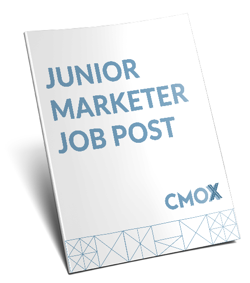 Junior marketer job post template
